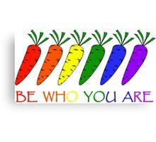 rainbow carrots II Canvas Print