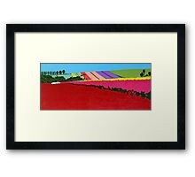 Table Cape Colour Shock Framed Print
