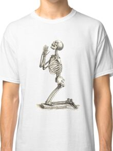 Skeleton Prayer Classic T-Shirt