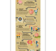 15 Reasons to Teach Your Kids Archery Sticker