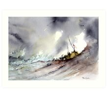 A Rescue Art Print