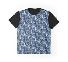 The Palm Trees Design Graphic T-Shirt