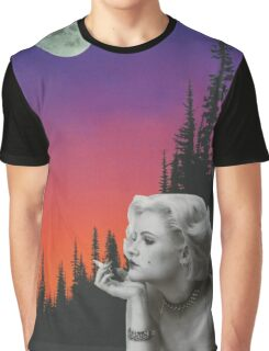 Mystery Woman Graphic T-Shirt