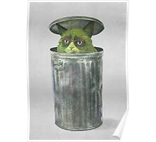 Grouchy Cat  Poster
