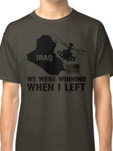 Iraq- Winning when I left Classic T-Shirt