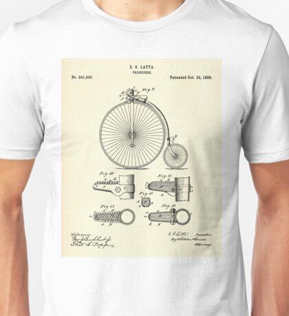 Velocipide-1888 Unisex T-Shirt