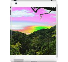 psychedelic sunset iPad Case/Skin