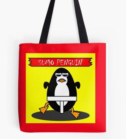 Sumo Penguin Tote Bag
