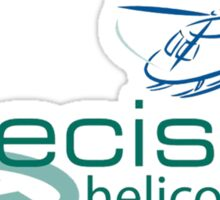 Precision Helicopters T Sticker