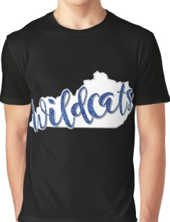 Wildcats Glitter Graphic T-Shirt
