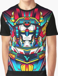 Voltron Full Defender Graphic T-Shirt