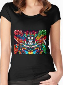 Voltron Full Defender Women's Fitted Scoop T-Shirt
