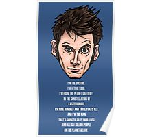10th Doctor Poster