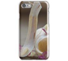 Birkenrinde und Rosenblatt iPhone Case/Skin