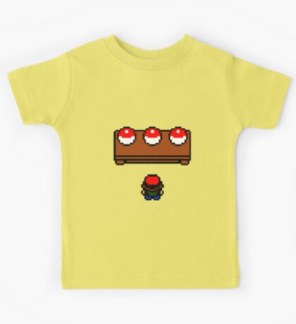 The  Pokemon Choice Kids Tee