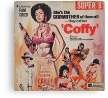 Pam Grier is Coffy Canvas Print
