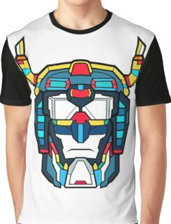 Voltron Head Defender Graphic T-Shirt
