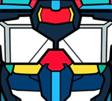 Voltron Head Defender Sticker