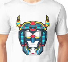 Voltron Head Defender Unisex T-Shirt