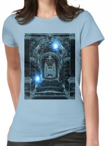 Abstract Gothic Architecture Womens Fitted T-Shirt