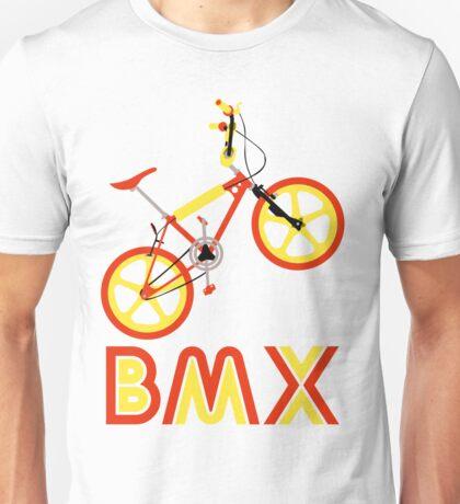 BMX (Red & Yellow) Unisex T-Shirt