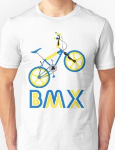 BMX (Blue & Yellow) Unisex T-Shirt