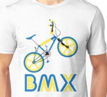 BMX (Blue & Yellow) Unisex T-Shirt