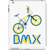 BMX (Blue & Yellow) iPad Case/Skin