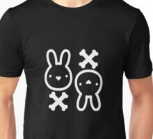 The cute bunny of death (dark version) Unisex T-Shirt