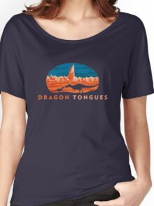 Dragon Tongues logo Women's Relaxed Fit T-Shirt