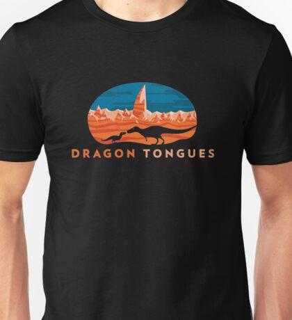 Dragon Tongues logo Unisex T-Shirt