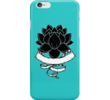 Lotus With Ribbon iPhone Case/Skin