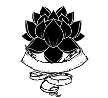Lotus With Ribbon Photographic Print