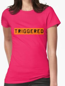 Triggered Mk 2 Womens Fitted T-Shirt