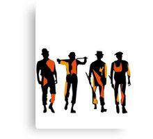 orange clockwork Canvas Print