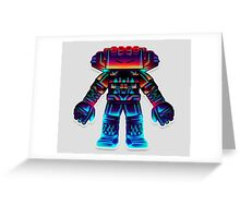 Robotic Battery Greeting Card