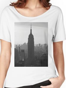 the NY Empire State Building Women's Relaxed Fit T-Shirt