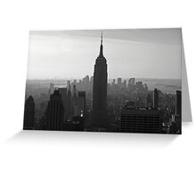 the NY Empire State Building Greeting Card