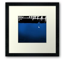 Half empty Framed Print