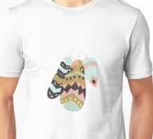 Tribal feather pattern 002 Unisex T-Shirt