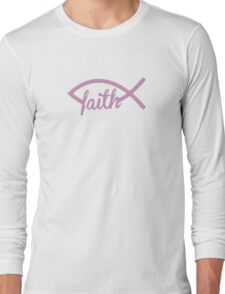 Christian Fish Long Sleeve T-Shirt