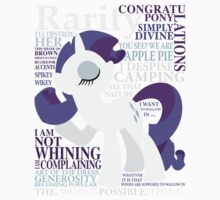 The Many Words of Rarity Kids Clothes