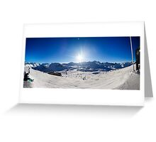 Val-D'Isere, Rhone-Alpes, France Greeting Card