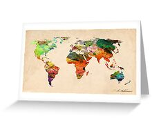 map Greeting Card