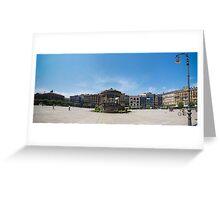 Plaza del Castillo - Pamplona Greeting Card