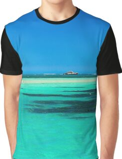 Penguin Island, WA Graphic T-Shirt