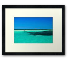 Penguin Island, WA Framed Print