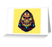 Skeletor HeMan Universe Greeting Card