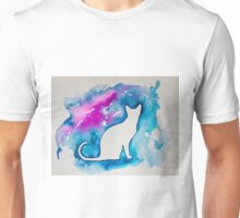 Kitty in blue  Unisex T-Shirt
