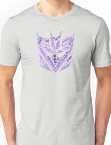 Transformers - Decepticon Wordtee Unisex T-Shirt